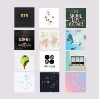 [PO] BTS TXT NEW/PAST ALBUM SEALED GROUP ORDER