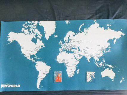PinCity Maps 世界版 藍