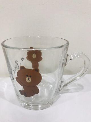 🚚 全新熊大玻璃杯
