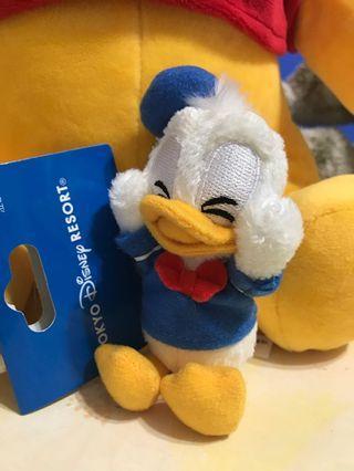 超可愛東京迪士尼眨眼限量款唐老鴨吊飾全新