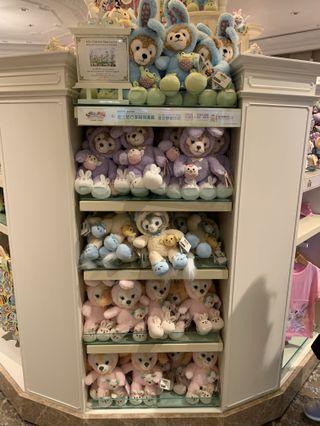 (預訂)2019 迪士尼復活節 Duffy and friends 毛公仔