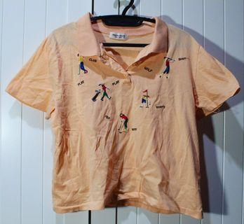 embroidered golf shirt 🏌️♀️