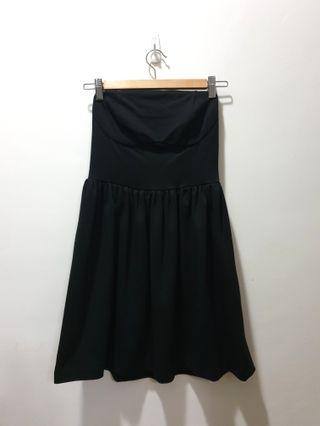 Asos black tube dress