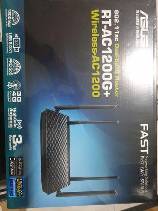 🚚 Asus Router RT-AC1200G+