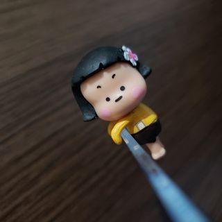 台灣直送 手機女孩 杯緣子