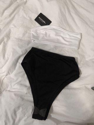 NEW High waisted bikini and bandeau