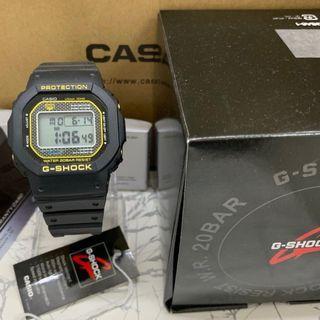G-Shock DW5600 Inner Yellow