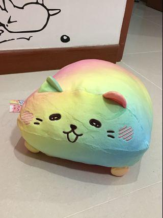 Picnic Labo Rainbow Cat Squishy Plush