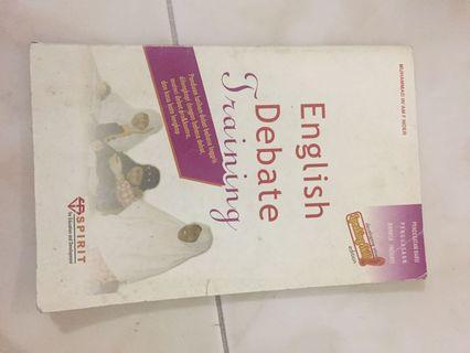 Buku belajar debat in English