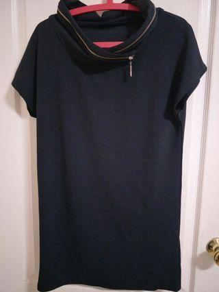 全新專櫃黑色小洋裝