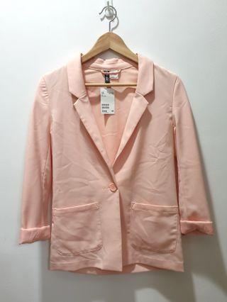 🚚 BNWT h&m peach blazer