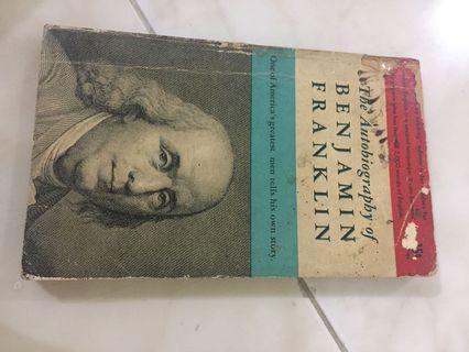 Buku autobiography Benjamin franklin