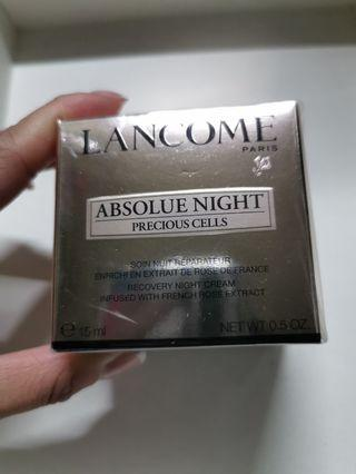 Lancome ABSOLUE NIGHT CREAM 15ml $110