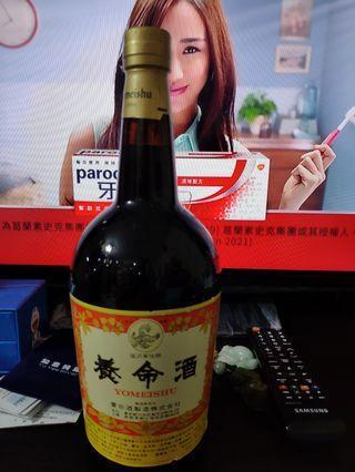 1995年出品,陳年養命酒1公升,1000ml一支,没有盒。