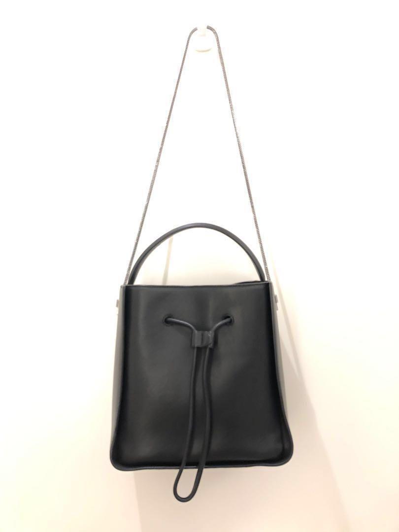 《實拍》3.1 Phillip Lim - Black Leather Shoulder Bag - Classic, like new