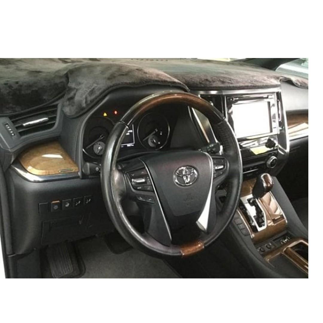 賣52萬跑四萬多Good 2016年 Toyota Alphard 3.5L 移動城堡~
