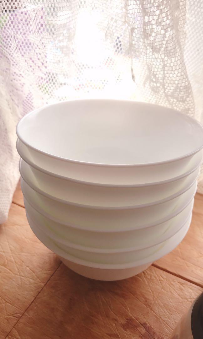 白瓷碗6隻已hold