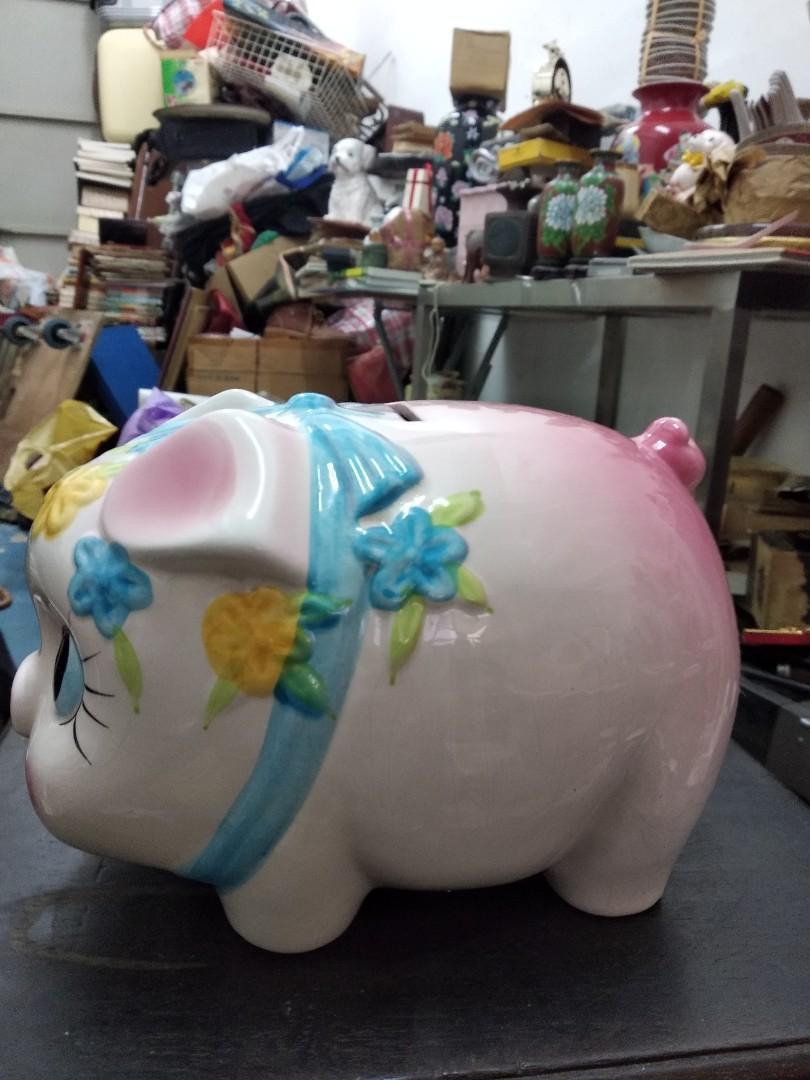 80年代豬仔錢罌