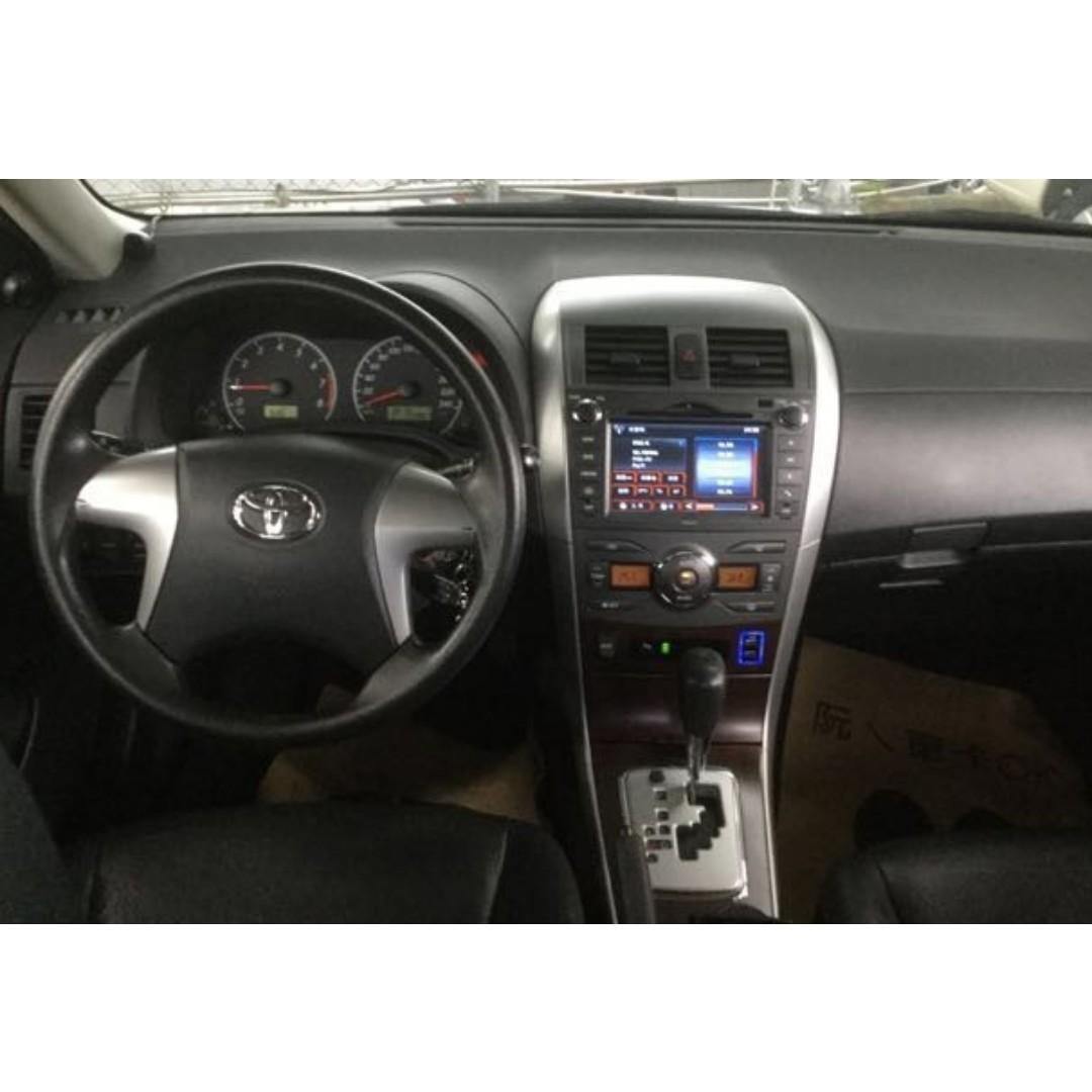 賣9萬8 跑9萬 2011年 Good車 Toyota Altis 挖ㄟ車卡ok拉~