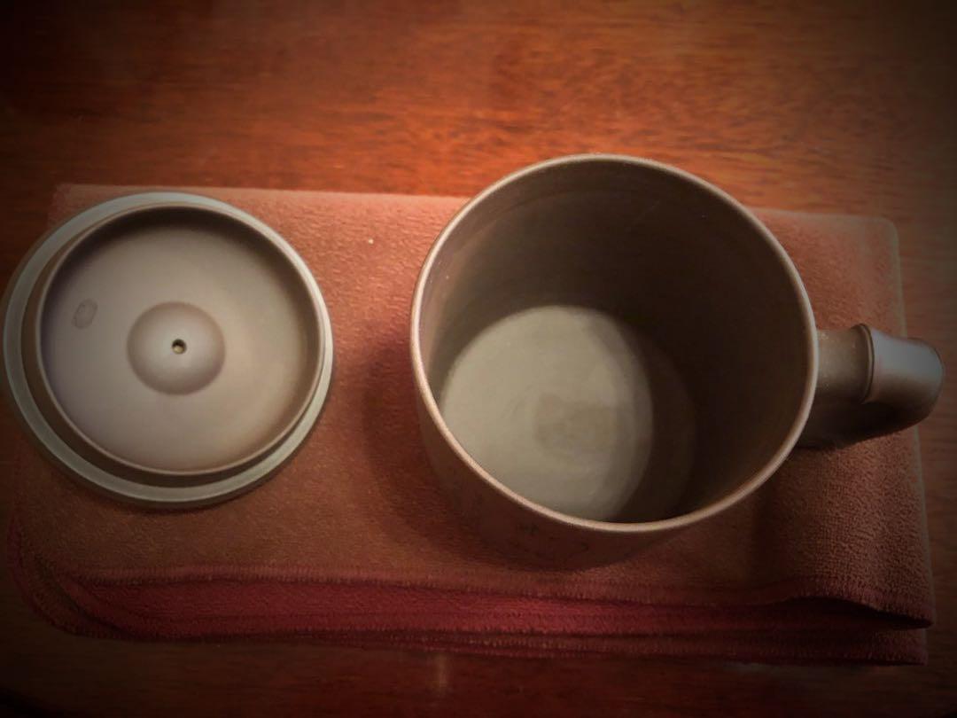 宜興手工紫砂杯 情侶杯一套