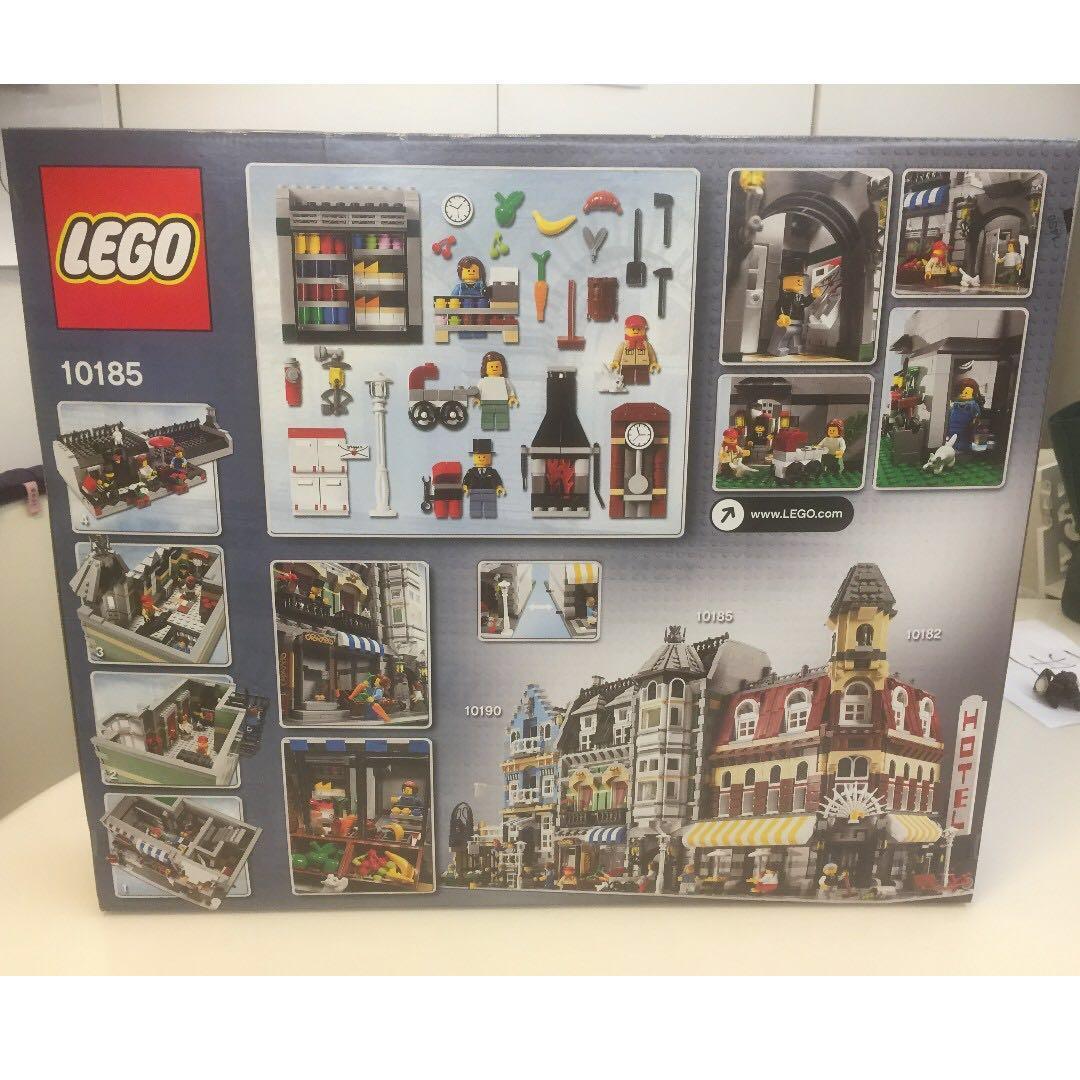 人性價! 全新 Lego 10185 Green Grocer 樂高 NISB new in sealed box 10182 10190