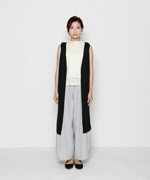 🌸sold🌸白色雪紡背心 Japan fashion chiffon layered sleeveless blouse white top white shirt