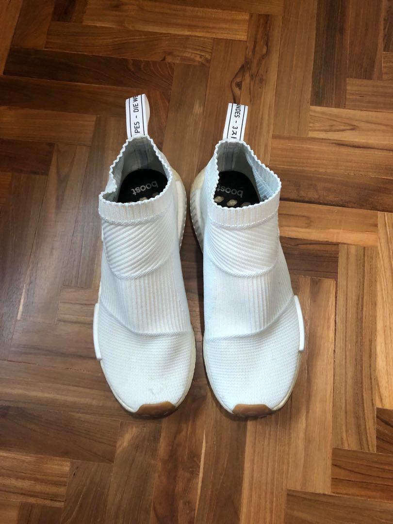 aaaa5fd34 Adidas NMD City Sock White Gum