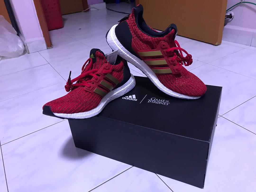 32d579629c9 ADIDAS ULTRA BOOST X GAME OF THRONES W Scarlet