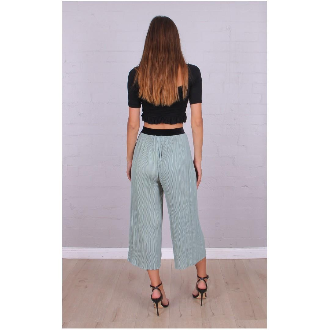 AFTERPAY AVAILABLE - MINT PLEATED CULLOTE 6 8 10 & 12