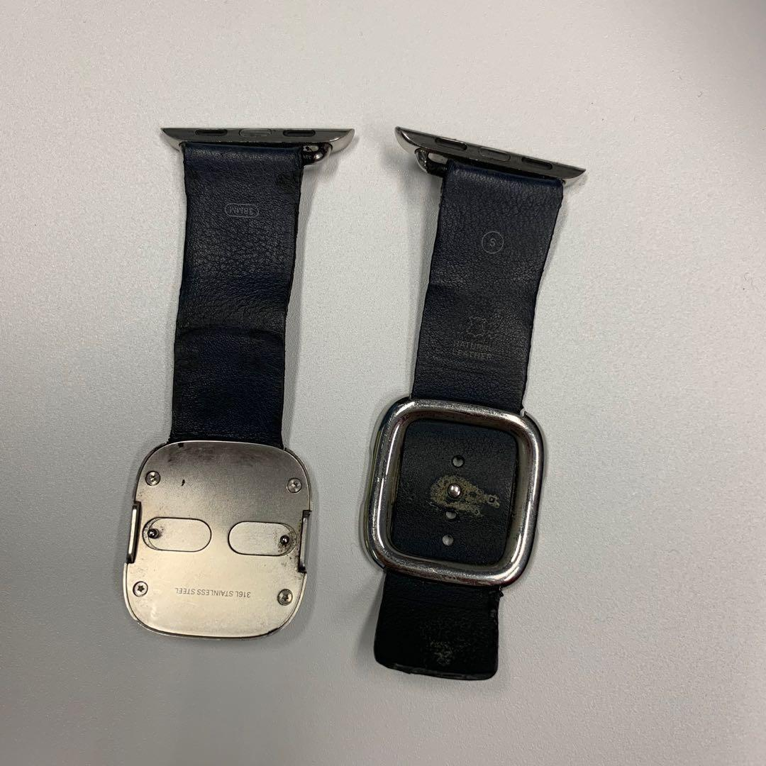 Apple Watch Leather Strap Authentic from Apple #endgameyourexcess