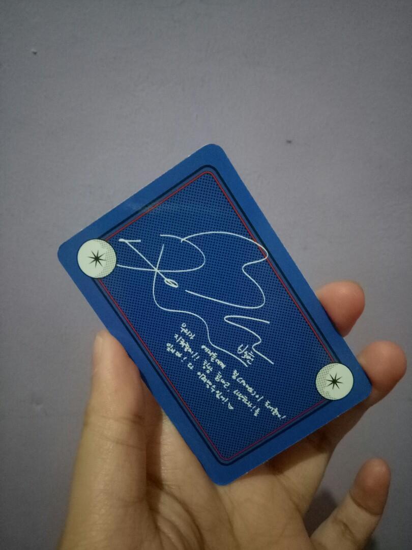 Baekhyun Photocard Official EXO: POWER