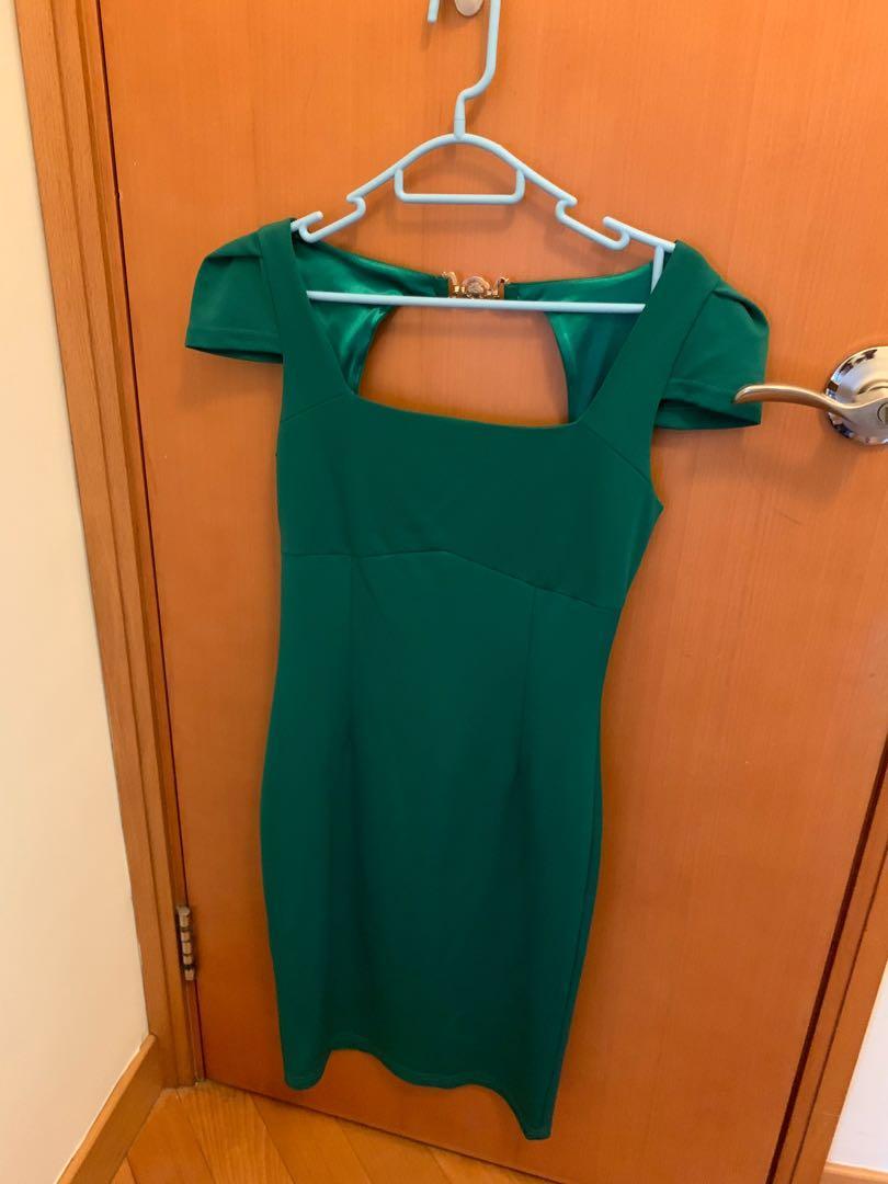 Beautiful green dress