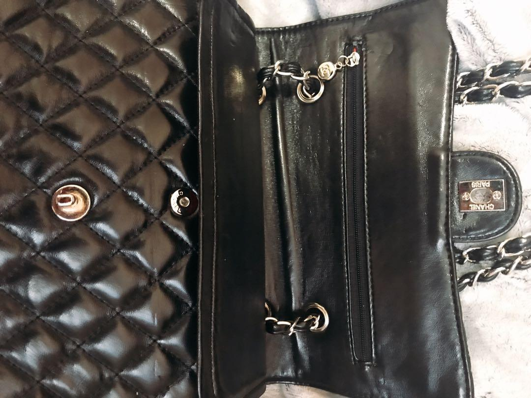 Black Calfskin Leather Bag  New pick up from Derry Rd W, Mississauga, On