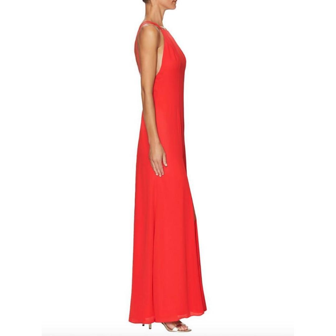 BNWT FAME & PARTNERS RED LEO DRESS - SIZES 10 & 12 AU (RRP $249)