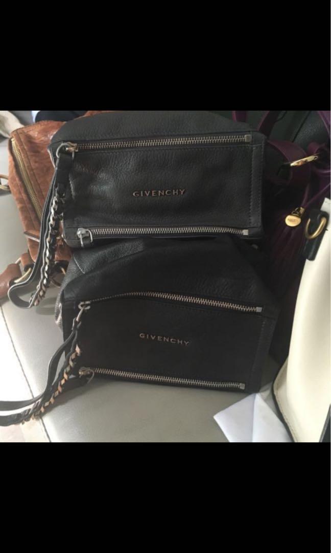 *Brand New* Givenchy Pandora Wristlets (Grey & Black)