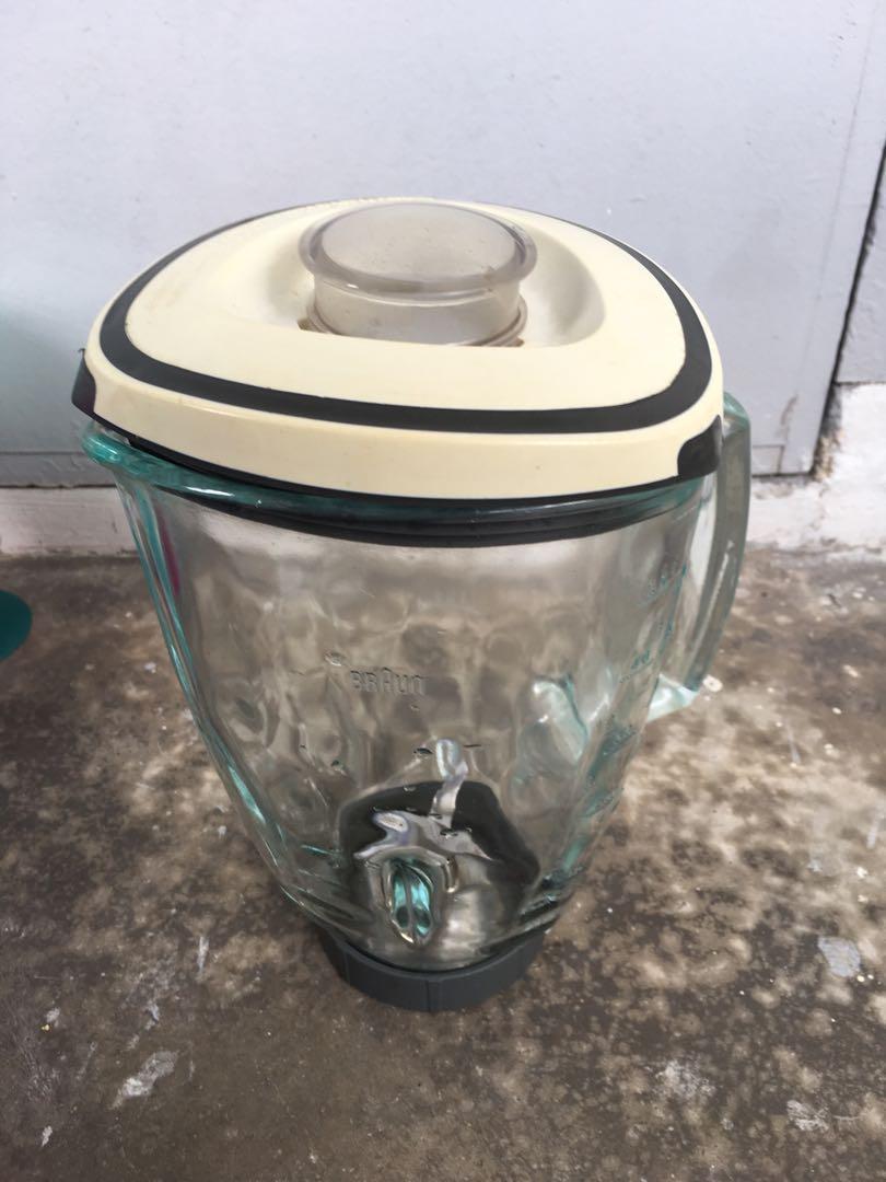 Braun glass blender pitcher