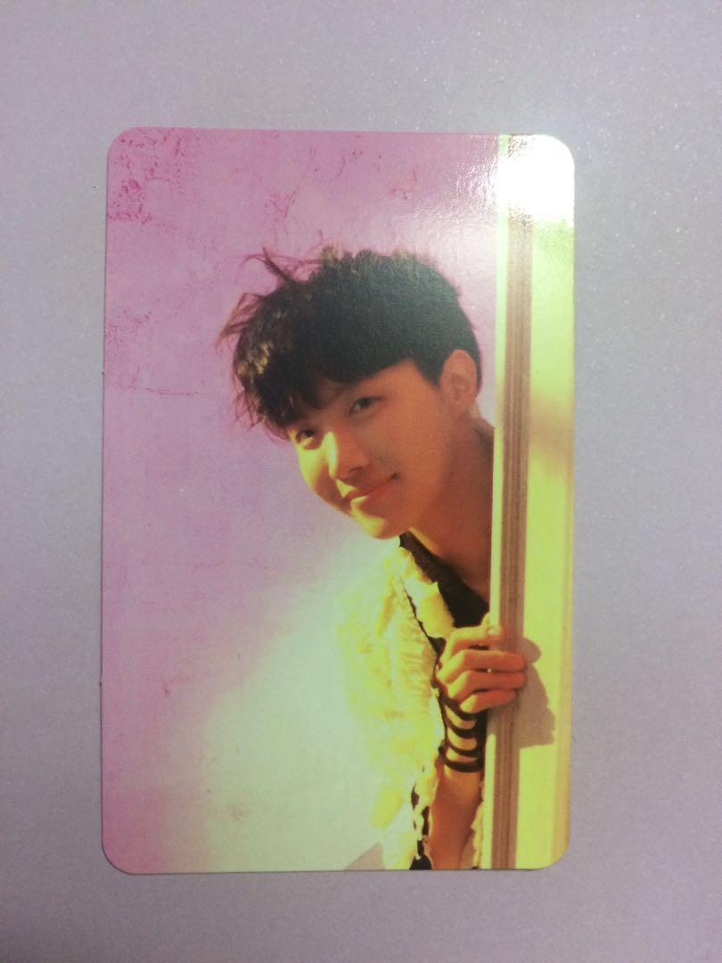 BTS Bangtan Love Yourself Answer J-Hope photocard S, L, F Version