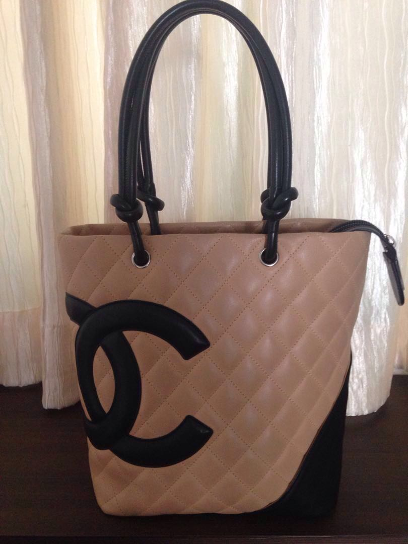 073d5de12 Chanel Cambon quilted leather shopping bag, Luxury, Bags & Wallets ...