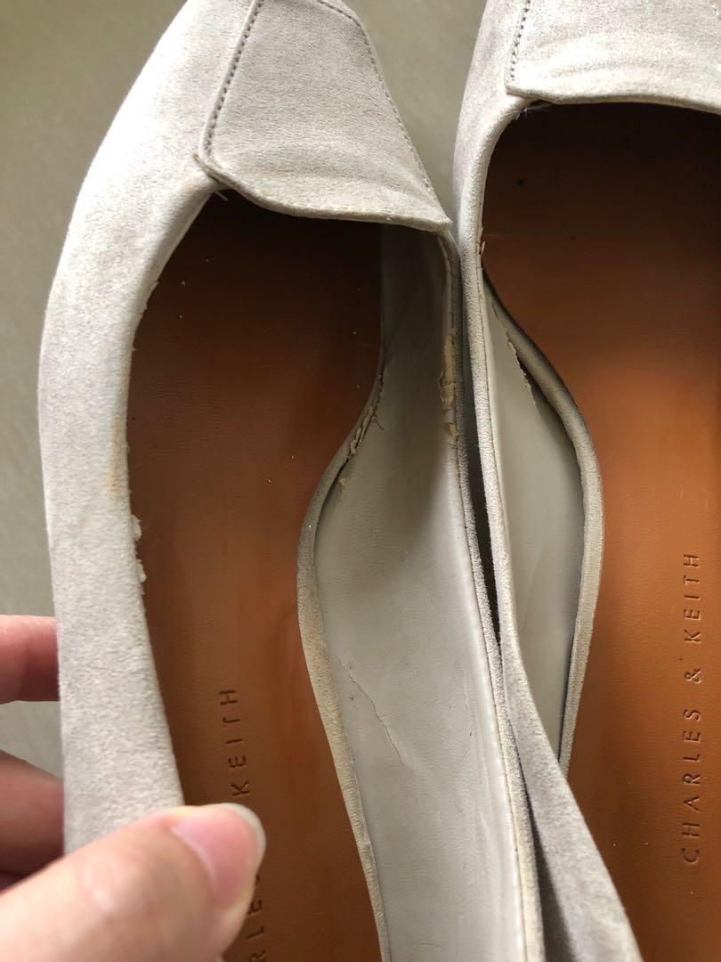 Charles and keith flat shoes