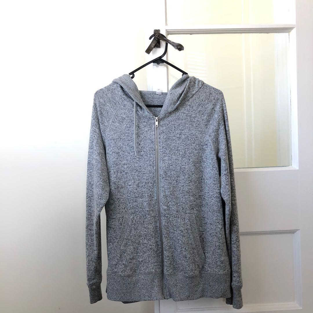 Cotton on grey hoodie jacket