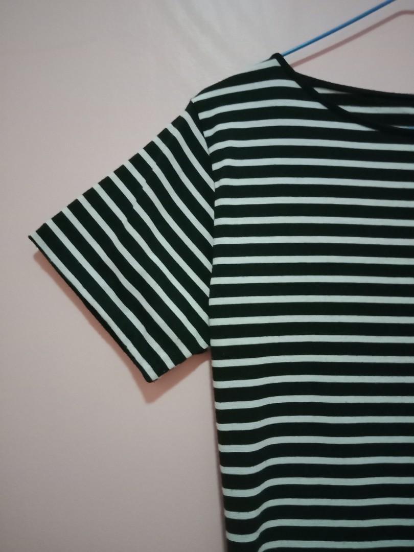 Cotton On Mididress Stripe Navy
