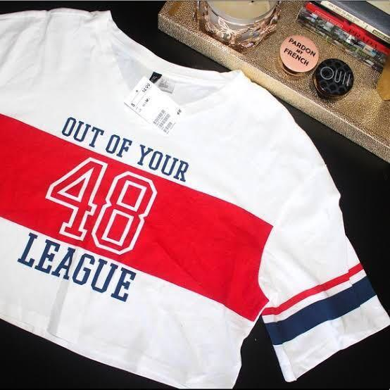 Crop Top 'out of your league'