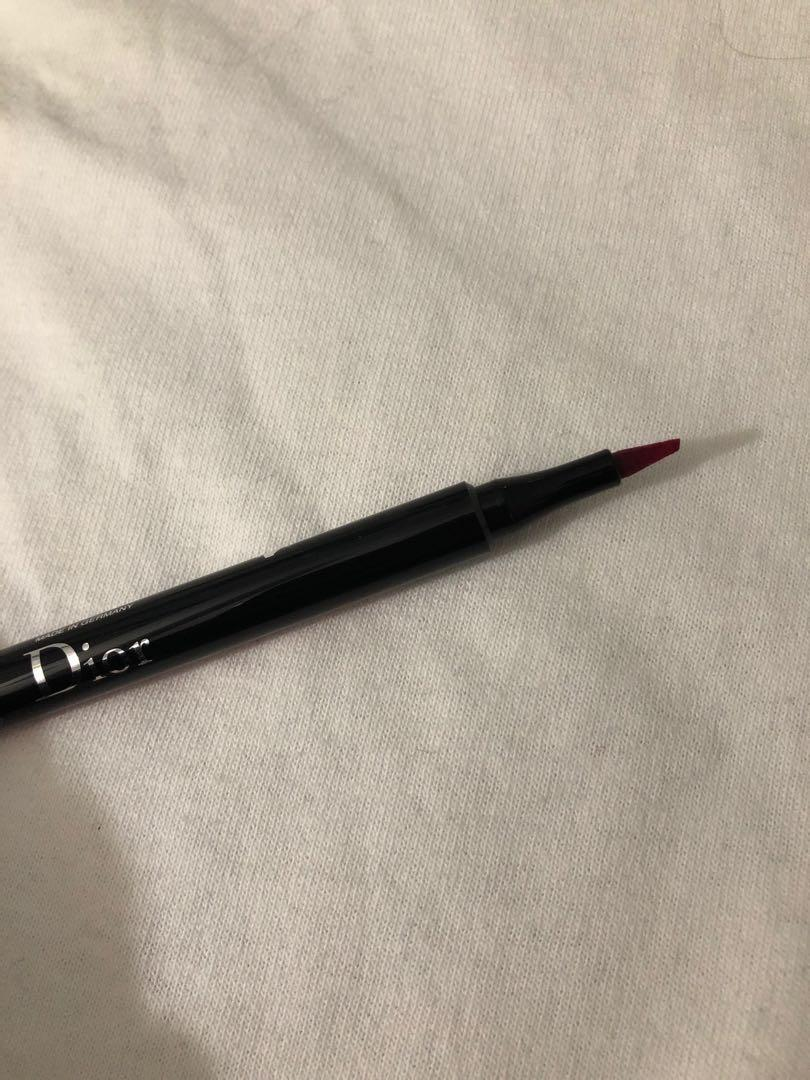 Dior rouge ink lip liner (pink)