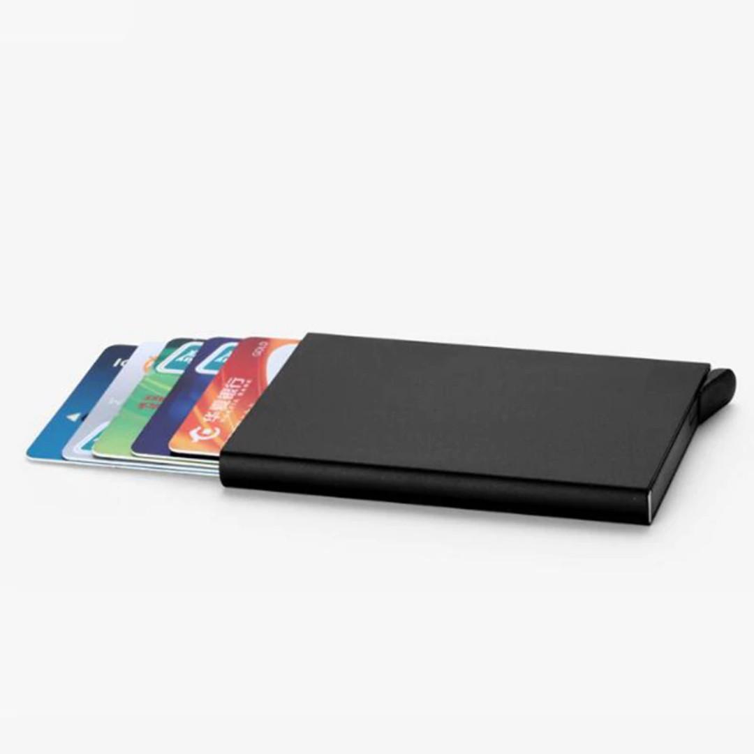 Dompet  Kartu / Credit & ID Card Wallet / Holder Metal Simple Case