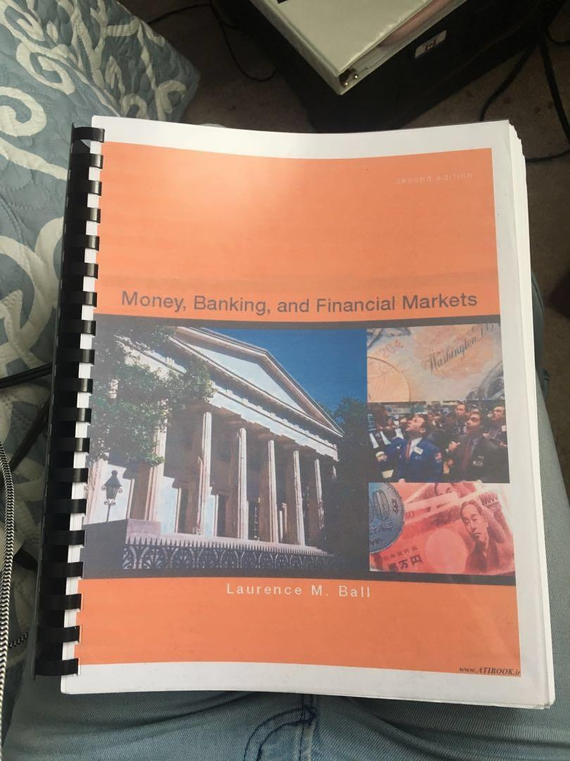 ECN506 - Money, Banking, and Financial Markets Textbook