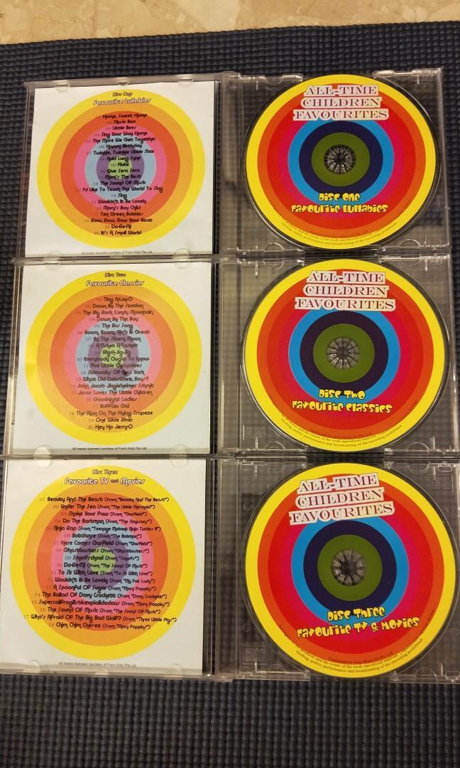 #ENDGAMEyourEXCESS All Time Children Favourites Lullabies CD