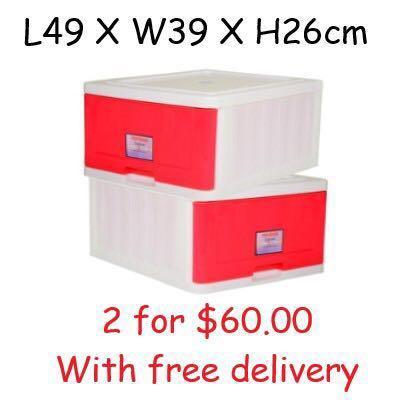#ENDGAMEyourExcess Toyogo Single Stackable storage drawer