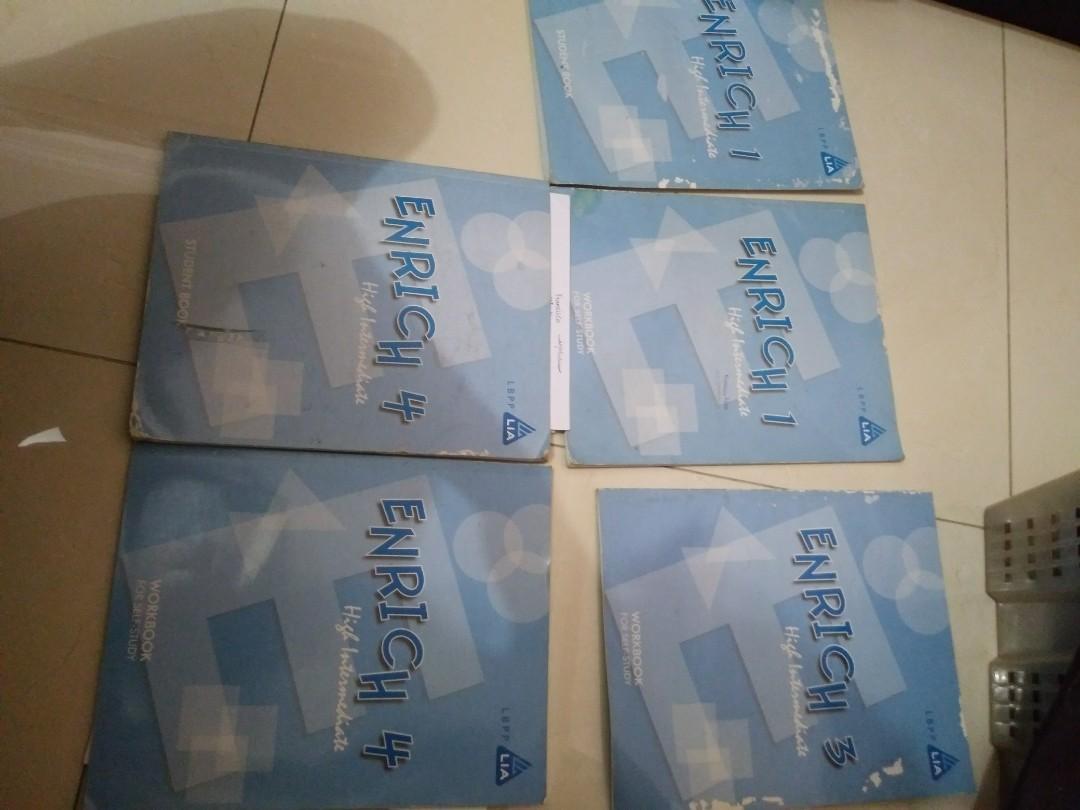 Enrich 1, 3, 4 (5 buku)