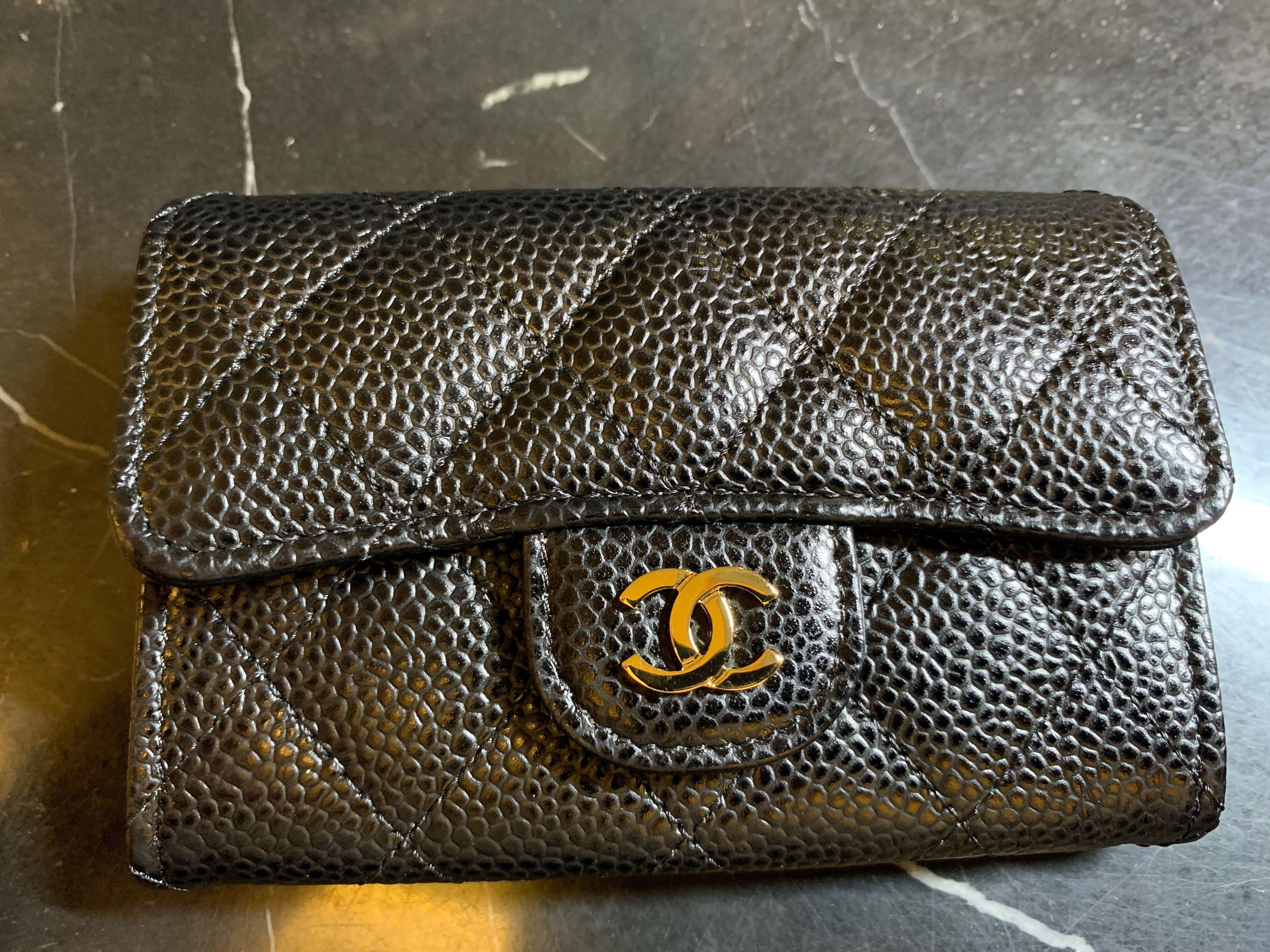 Full Set 100% authentic Chanel classic card holder
