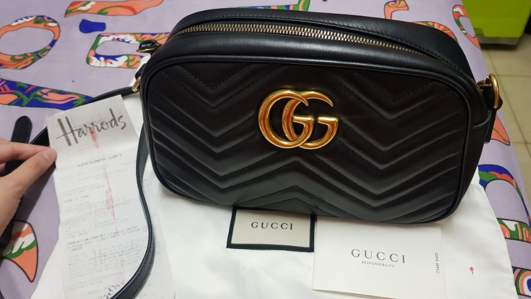 669eee6210f9 Gucci GG marmont bag, Luxury, Bags & Wallets, Handbags on Carousell